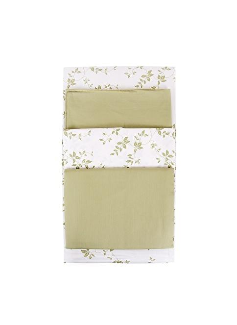 Esse Ivy Nevresim Seti Çift Kişilik 200x220cm Yeşil Yeşil